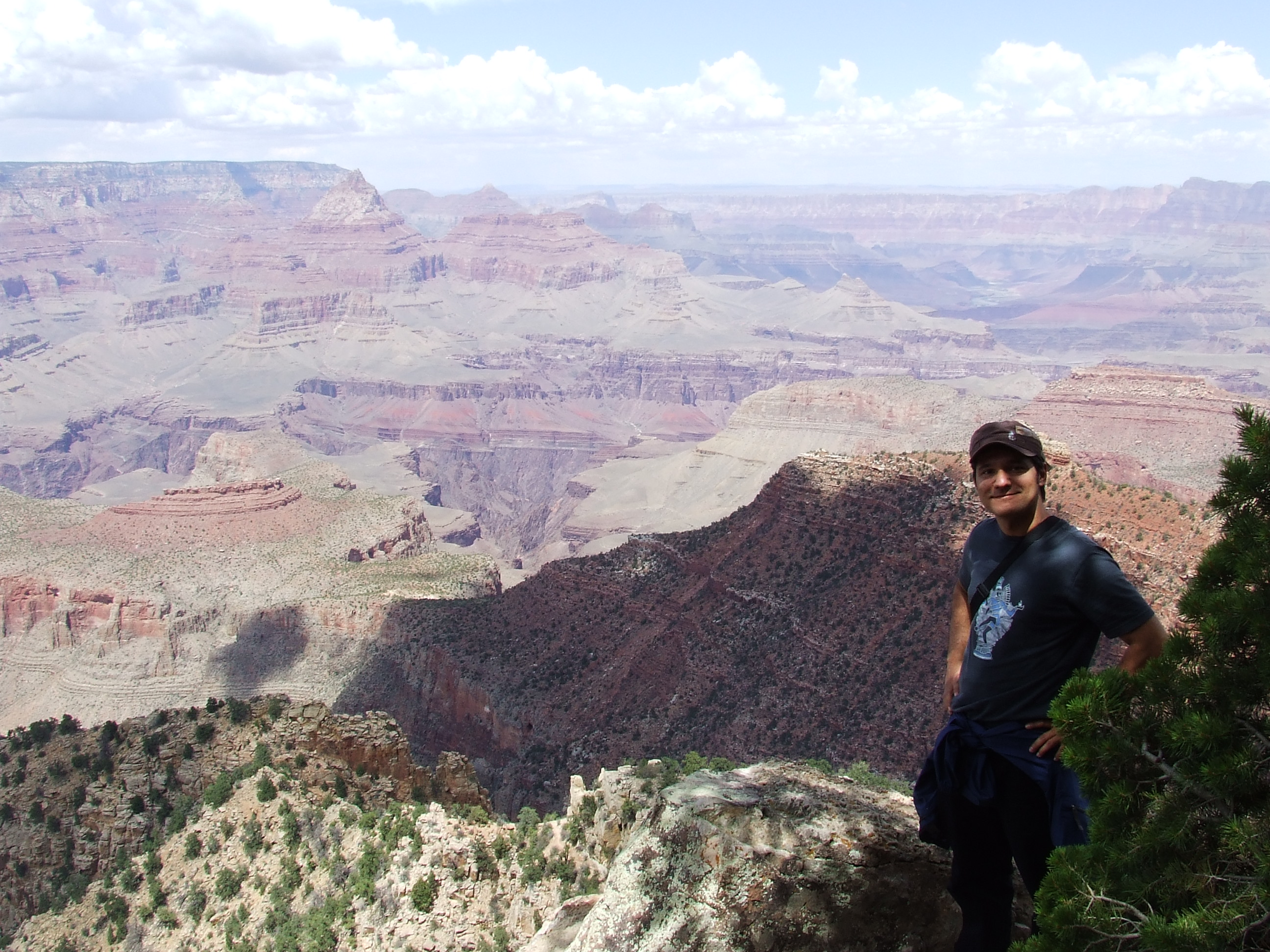 That's me in the Grand Canyon, yes.